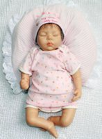 baby bottle mouth - 22inch cm Magnetic Mouth Reborn Baby Doll Soft Silicone Lifelike Toy Gift for Children Christmas Present Sleep Hat Pink