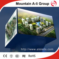Wholesale Shenzhen Mountain A Li Group P10 High definition and high brightness Outdoor Full Color LED Display Screen for advertising