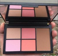 Wholesale 2017 NA RS Blusher N rs Limited Edition blush makeup highlighter makeup bronzer Palette JOUES Laguna with Free Ship Free Gift