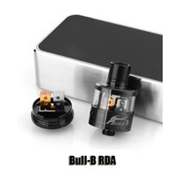 b mod - Bull B RDA Side screws post design Peek insulator Rebuildable Dripping Atomizer Airflow Control Vaporizer Tank for thread Mods