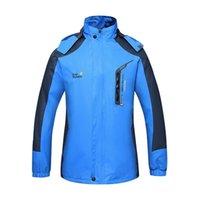 Wholesale Mens Women Jacket Outdoor Windbreaker Waterproof Windproof Outerwear Lovers Sport Coats Sportswear Climbing Camping Jackets