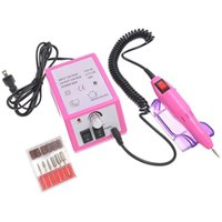 Wholesale Electric Nail Drill Professional Nail Machine Electric File with Bits Pink