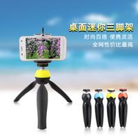 angled shelf - Three desktop mini tri GoPro handheld stabilizer micro SLR camera macro angle shelf mobile phone self support