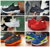 air grey - 2016 New Design Air Huarache IV Running Shoes For Women Men Lightweight Huaraches Sneakers Athletic Sport Outdoor Huarache Shoes