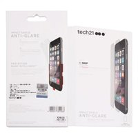 Wholesale Tech Tech21 Screen protector Impact Shield Shockproof Film D30 For Iphone s plus plus explosion proof