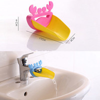 Wholesale Durable Kid Toddler Baby Faucet Washing Hands Bathroom Sink Lovely Crab TT189