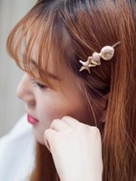 Wholesale 15 off Beautiful Shell Metal Barrettes Butterfly Design Hairpin Hair Clips Elastic Tool Women Hair Jewelry Accessories