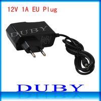 Wholesale 100Pcs V1A New AC V V Converter power Adapter DC V A mA Power Supply EU Plug DC mm x mm Free Fedex