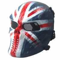 alloween costume - Scary Costumes Outdoor CS protective mask Military tactics Metal masks alloween Masquerade Adult Masks Cosplay Party Costume