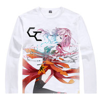 Wholesale Guilty Crown Long Shu Ouma T shirts Anime Awesome Gifts Mens Designer Long T shirts Anime Cartoon Girl Cute T shirt T Shirt Shirt
