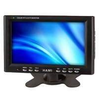 Wholesale HAMI H701T inch touch screen LCD Monitor Industrial LCD Monitor with VGA AV Input BNC function is optional Industrial Monitor