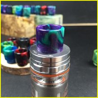 Wholesale SMOK TFV8 Drip Tips Epoxy Resin Wide Bore Drip Tips Mouthpiece for Smok TFV8 Atomizers Colorful
