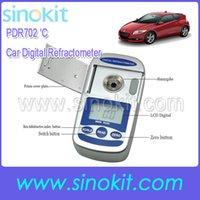 Wholesale Car Cleaner and Ethylene Glycol Digital degree centigrade Pocket Refractometer PDR702