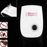 Wholesale Hot enhanced version electronic cat ultrasonic mosquito repeller mouse repellent cockroach pests reject