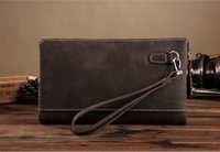 big bag manufacturers - Manufacturers selling foreign trade goods big crazy horse leather leather handbags leather casual handbags wallet tide men s bags