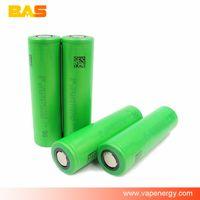 Wholesale 50PCS VTC4 battery rechargeable VTC4 battery e cig battery mah A continuous high discharge vapor battery vape mod ecig