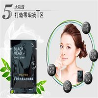 Wholesale Free DHL PILATEN Suction Black Mask Cleaning Tearing Style Pore Strip Deep Cleansing Nose Acne Blackhead Facial Mask Remove Black Head