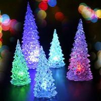 Wholesale 2016 LED Enfeites Decoracao De Natal New Year Christmas Gift Ornaments Navidad Natal Christmas Light Cristmas Tree Decorations