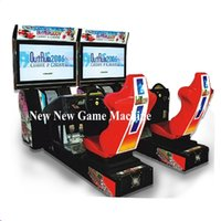 arcade simulator - 42 LCD New Amusement Park Equipment Arcade Coin Operated Simulator Outrun D Video Driving Play Car Racing Games Machine
