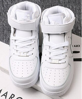 Wholesale Hot sell Size upgraded version New All White Shoes Men and Women Fashionable Casual Shoes
