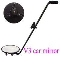 Wholesale WD ML V3 under car search mirror under vehicle inspection mirror convex mirror V3 Under Vehicle degree