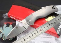 balls equipment - Tactical knife spider C41 high end titanium alloy ball bearing S35VN steel knife folding knife camping equipment outdoor survival tools