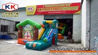 baby inflatable bouncers - Mini Giraffe House mm PVC Tarpaulin Kid s Air Bouncer slide baby inflatable bouncers
