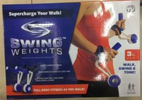 Wholesale SWING WEIGHTS Dumbbell Running Fitness Supercharge Your Walk Full Body Fitness as you walk High Quality the New aa