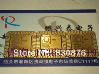 Germanium amd microprocessors - Amd R80186 square clcc gold plated microprocessor old cpu Electronic Components