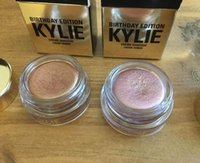 Wholesale Dropship Kylie Cosmetics by Kylie Jenner Rose Gold Copper Creme Eye Shadow Birthday Collection