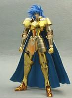 Wholesale S Temple Metal Club MetalClub MC model ST Gemini Saga Saint Seiya metal armor Myth Cloth Gold Ex Action Figure