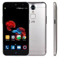 "Cheap Original ZTE C880S Metal Body MTK6735 Quad Core Android 5.1 5.0"" 2G 8G 13MP IM FDD LTE FingerPrint Mobile Phone"