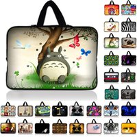 Wholesale 7 inch Cute Cat Laptop Sleeve Waterproof Shockproof Sleeve Pouch Bag Tablet Case Cover For Dell HP ASUS