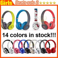 beat box - Used Beats solo2 Wireless Active collection Headphones rose gold helloKitty solo Bluetooth Headset brand new retail box With Serial code