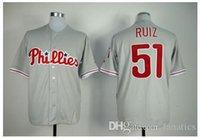 american philadelphia - 2015 New New Top quality Philadelphia Phillies Carlos Ruiz American jersey L