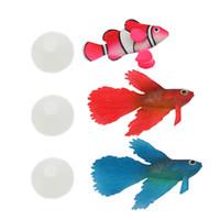 Wholesale 2016 New Arrival Styles Colors Aquarium Artificial Fish Decor Glowing Effect For Fish Tank Ornament