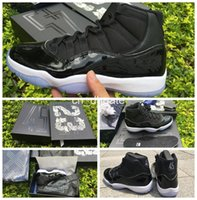 basket boxes - 2016 New Retro XI Space Jam Basketball Shoes Quality Men Sneakers Athletics Trainers Space Jams Retro Sports Shoes with Box