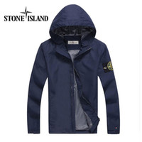 applique hat - fast shipping new stone autumn mens jacket bomber jacket and coat stone blue jacket with hat
