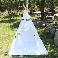 Wholesale Cotton Canvas Children Play Teepee Tent for Kids