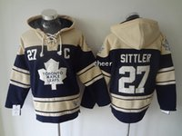 low price hoodies - 2016 Newest Men s Toronto Maple Leafs SITTLER blue Hoodies Jersey Ice Hockey Jerseys Best Quality Low Price
