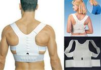 Wholesale OPP bag packing Magnetic Posture Support Corrector Back Pain Feel Belt Brace Shoulder