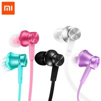 basic phone wiring - Xiaomi Piston Earphone Basic Version In ear Earphones Piston Simple Edition Colors with Mic For Mobile Phone MP4 MP3 PC
