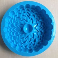 Cheap Wholesale New Arrival Sunflower Shape Kitchen Pasty Mould Silicone Cake Tools Moulds Bakeware Cake