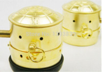 Wholesale pure copper Moxibustion box moxa cone case burner box physiotherapy Cheap boxes and packing supplies