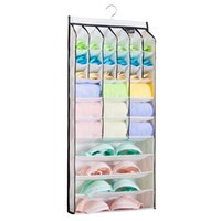 bamboo gates - All In One Pockets Multilayer Zipper Gate Storage Bags Hanging Closet Cabin Bedroom Kitchen Diversified Pocket Grid Organizer