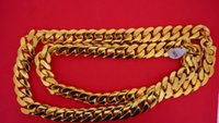 best deals china - 400 Grams Miami Cuban Link Chain k Solid Gold Necklace Best Deal Video mm
