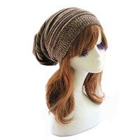 amazing ski - Amazing Fashion Women Knit Baggy Beanie Cap Winter Warm Oversized Ski Cap Hat Colors