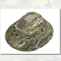 Wholesale Tactical Camo Boonie Hat Wide Brim Hat Emersongear Special Forces Sniper Combat Airsoft Hat MCTP