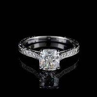 antique cushion cut diamond rings - GIA Certified Ct Antique Style Cushion Cut Diamond Engagement K White Gold
