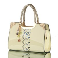 american the beautiful - Beautiful and luxury handbags The paint hollow portable ladies handbag Fashion Shoulder Diagonal bag